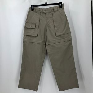 Cabela's Outdoor Convertible size 12 Tan Pants
